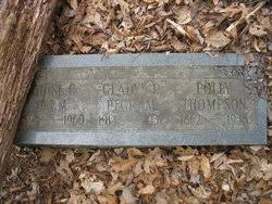 Polly Thompson (1861-1937) - Find A Grave Memorial