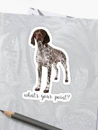 Dog Collectables German Shorthaired Pointer German Shorthair Pointer Window Decal Sticker Life Without A Gsp Pointless German Shorthaired Pointer Dog Collectables Genuss Ng