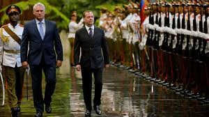 Russian Prime Minister Dmitry Medvedev visits Havana | CGTN America