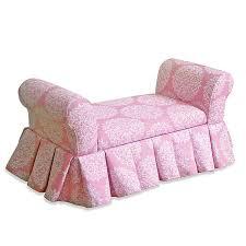 Kids Storage Bench Settee In Pink Bed Bath Beyond