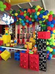 Decoracion De Fiesta Infantil Con Encanto De Lego City By Marita