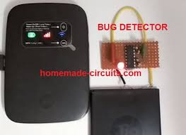 anti spy rf detector wireless bug