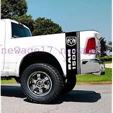 Amazon Com Ram Head Side Bed Stripes Truck Vinyl Decals Stickers Vinyl Car Graphics Black Home Kitchen
