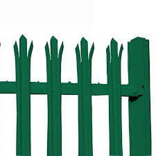 China Wholesale Price Steel Security Palisade Fence Pvc Palisade Fence Yeson Factory And Manufacturers Yeson