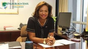 Up close with new Palm Beach State College President Ava L. Parker, J.D. -  YouTube