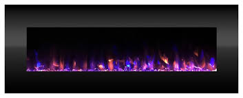 electric fireplace color changing led