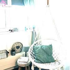 Indoor Hanging Chairs Bedrooms Kids Hammock Swings Swing Chair Bedroom Child Stand Club Saltandblues