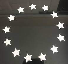Betsy Ross Stars 13 Stars In A Circle Vinyl Signs And Decals