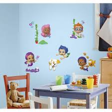 Roommates 5 In X 11 5 In Bubble Guppies Peel And Stick Wall Decals Rmk2404scs The Home Depot