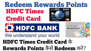 redeem points of hdfc credit card