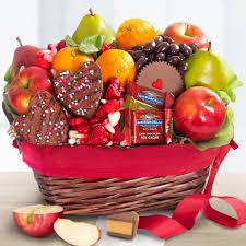 valentine treres fruit basket gift