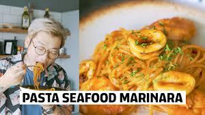 Pasta > How To make Seafood Marinara