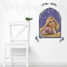 Rapunzel Tangled Wall Sticker Disney Tangled Wall Decal Stickythings