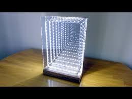 modern led infinity illusion mirror