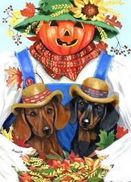 dachshund fall flag dog flag boston
