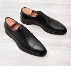 oscar black leather on rubber sole