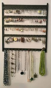 wall mount jewelry holder spacewise