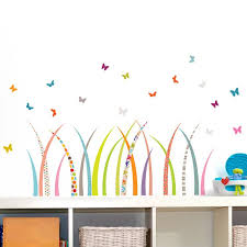 Mia Co Meadow Wall Decal Nursery Wall Decals Space Wall Decals Baby Wall Decals