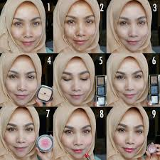 langkah makeup simple saubhaya makeup