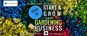 start and grow your gardening business