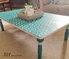rescuing a coffee table from the trash