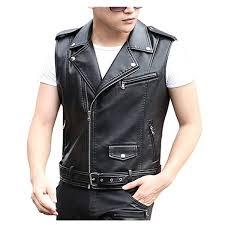 genuine sheep leather jacket in black