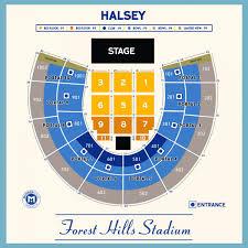 rescheduled halsey forest hills stadium