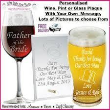 wedding gifts present best man usher