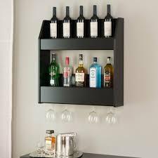 tier wall mounted liquor display bar