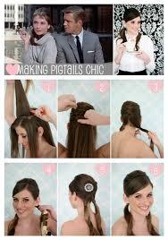 audrey hepburn hair tutorial easy