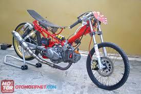 modifikasi motor jupiter z drag terbaru