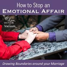 stop an emotional affair