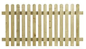 Henley Picket Fence Panel 1800mm X 900mm Atlantic Timber
