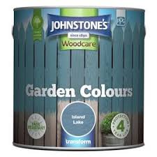 Buy Johnstone S Garden Paint 2 5 Litre Gentle Willow Shed And Fence Paint Argos