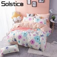 rose flower girls bedding sets
