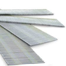 series zinc angled finish nails