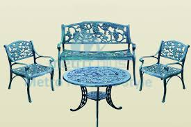 cast iron garden benches chairs