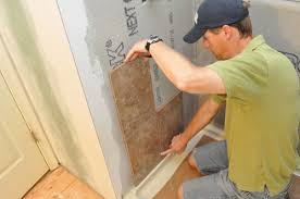 how to tile a bathroom shower walls