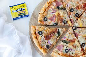 easy homemade tropical pizza