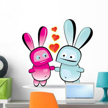Valentine Day Love Beautiful Wall Decal Wallmonkeys Com