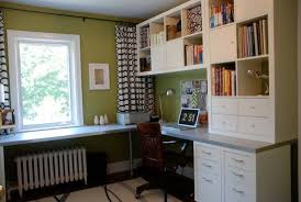 Jennifer and Sean does a lovely makeover of their home office with IKEA  furnishi | Ikea home office, Home office decor, Home office design