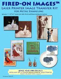 Decal Paper For Metal Enamels Enamels At E Namels Com