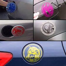 Power Rangers Car Petrol Tank Die Cut Decals Car Accessories On Carousell