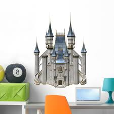 Fairy Tale Castle 3d Wall Decal Wallmonkeys Peel And Stick Decals For Girls 36 In H X 36 In W Wm503002 Walmart Com Walmart Com