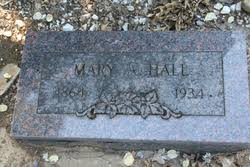 Mary Adeline Phillips Hall (1864-1934) - Find A Grave Memorial