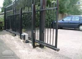 Kingcats Fence Company House Gate Design Metal Driveway Gates Wrought Iron Gates