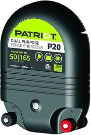 Amazon Com Patriot P20 Dual Purpose Electric Fence Energizer 2 0 Joule Pet Supplies
