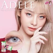 Pretty Doll Adele Gray บิ๊กอายสายตาสั้น 300 350 650 200 150 550 425 600 375  475 400 250 175 100 500 450   Lazada.co.th