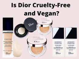 is dior free and vegan