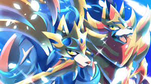 Zacian and Zamazenta Pokemon Sword and Shield 4K Wallpaper #65